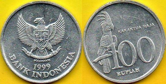 INDONEZJA 100 Rupiah 1999 r.