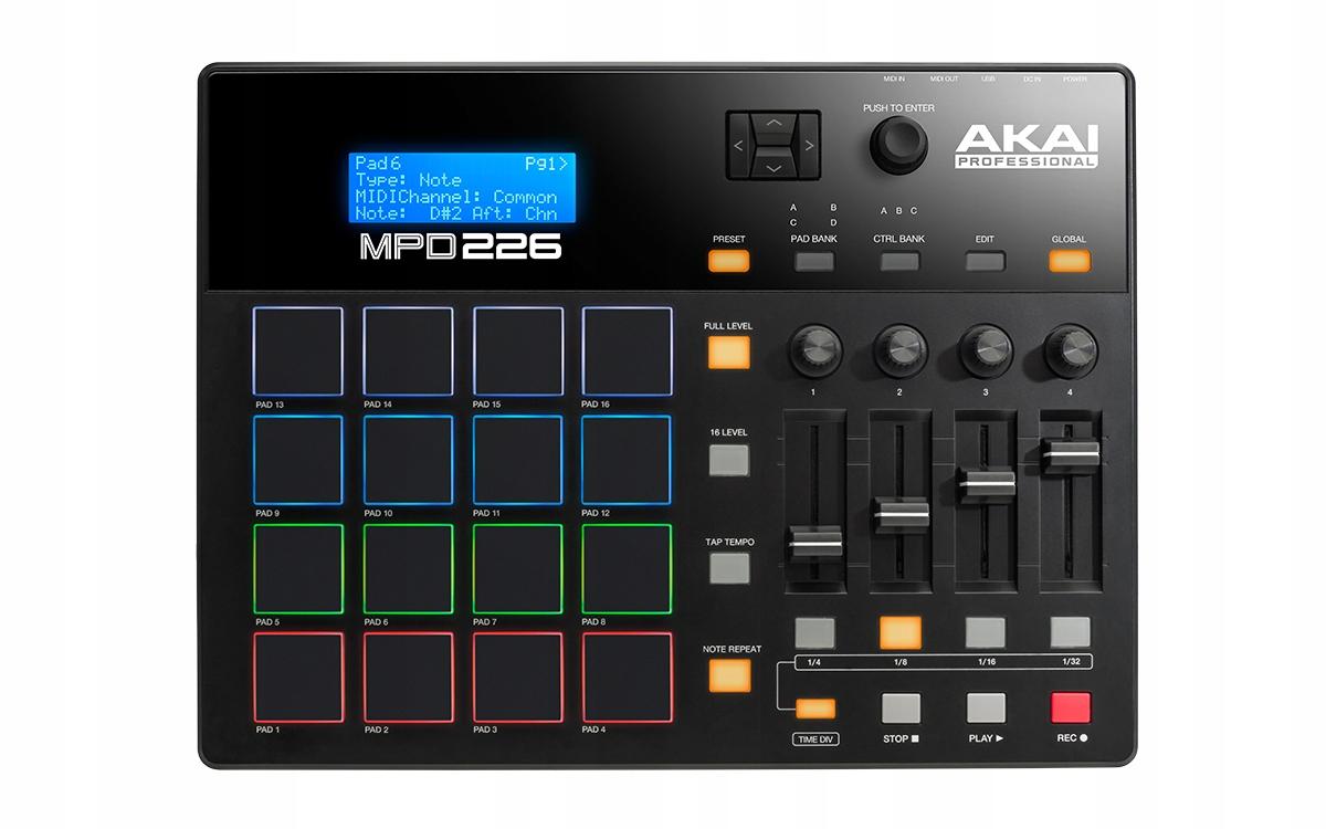 AKAI MPD 226 USB / MIDI CONTROLER + ABLETON