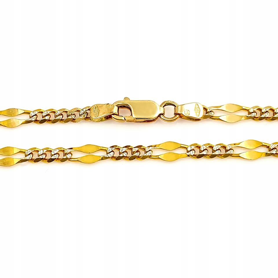 Náramok zlato žlté a biele zlato pr585 lacné