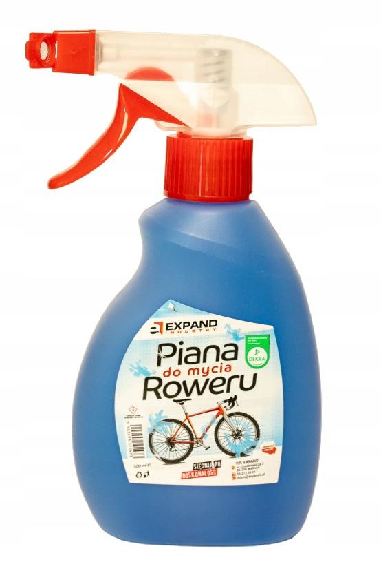 Piana do mycia roweru EXPAND łatwa w użyciu 300ml