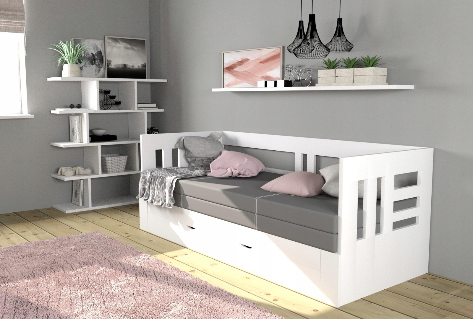WIKI 70/140 x200 раздвижная кровать с матрасом HR