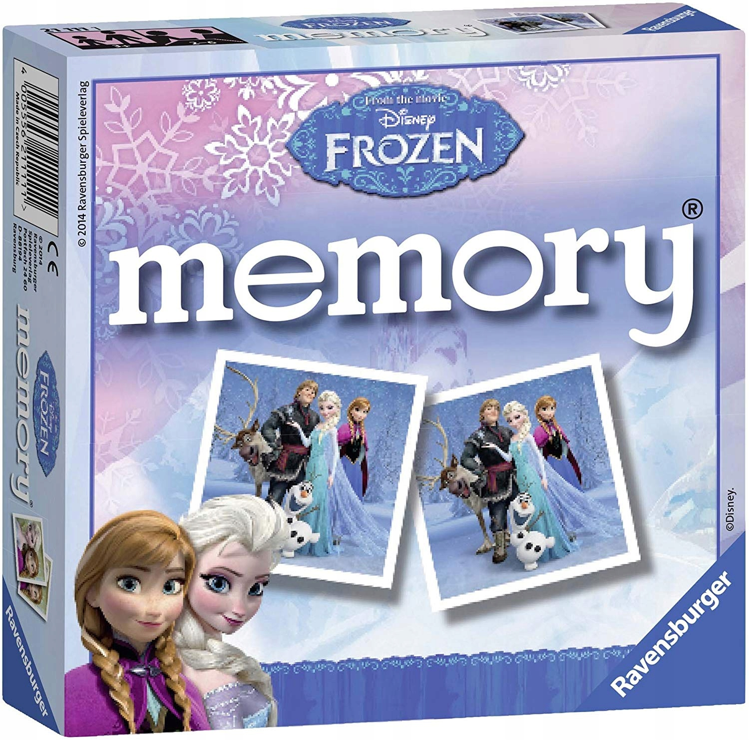 Disney FROZEN Memory THE LAND OF ICE MEMORY GAME