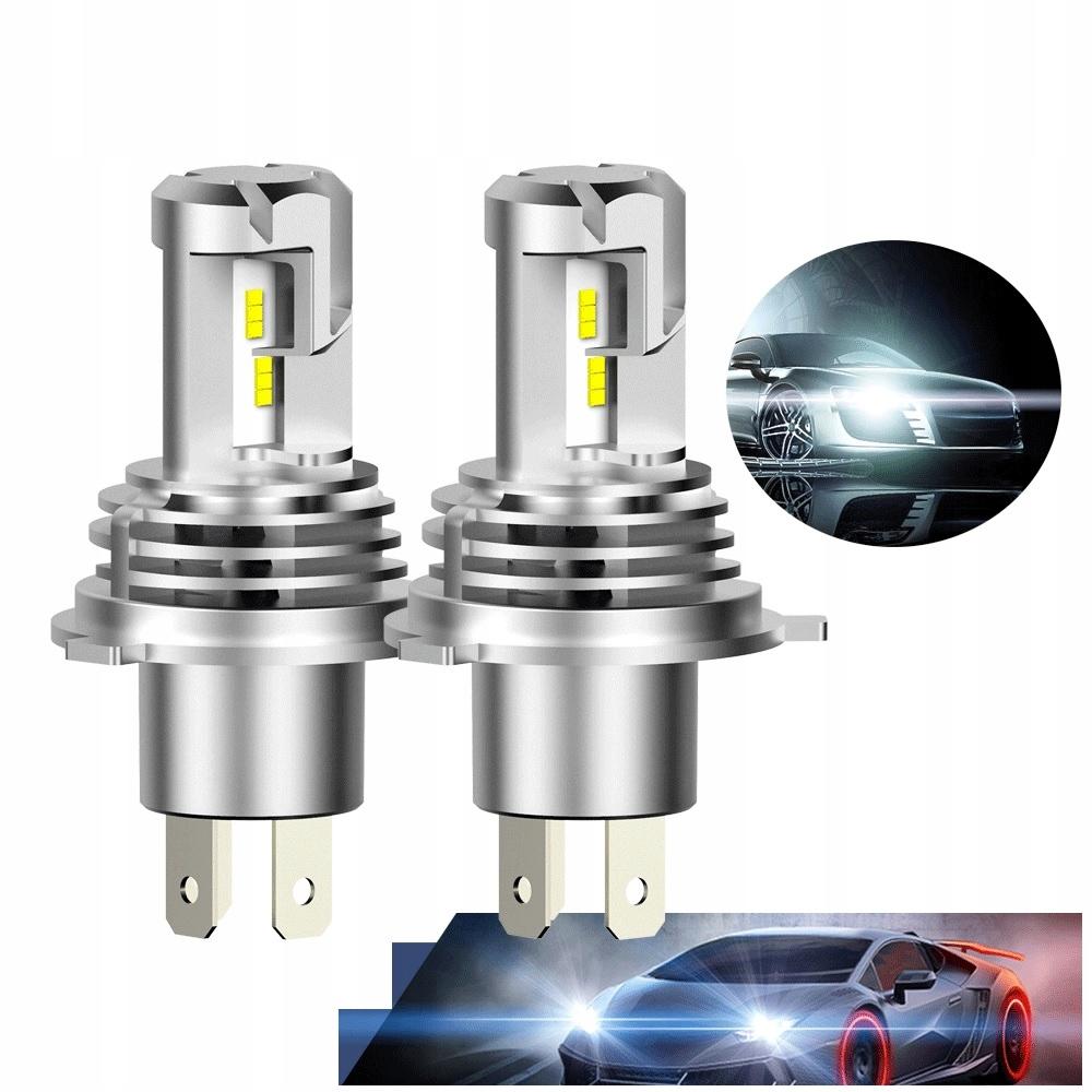 Светодиодные лампы H4 24000lm CanBus 9-30V Tytan White