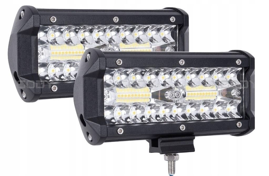 Установить 2 х Галогенные светодиодные рабочие лампы - 120 Вт 10-30 В
