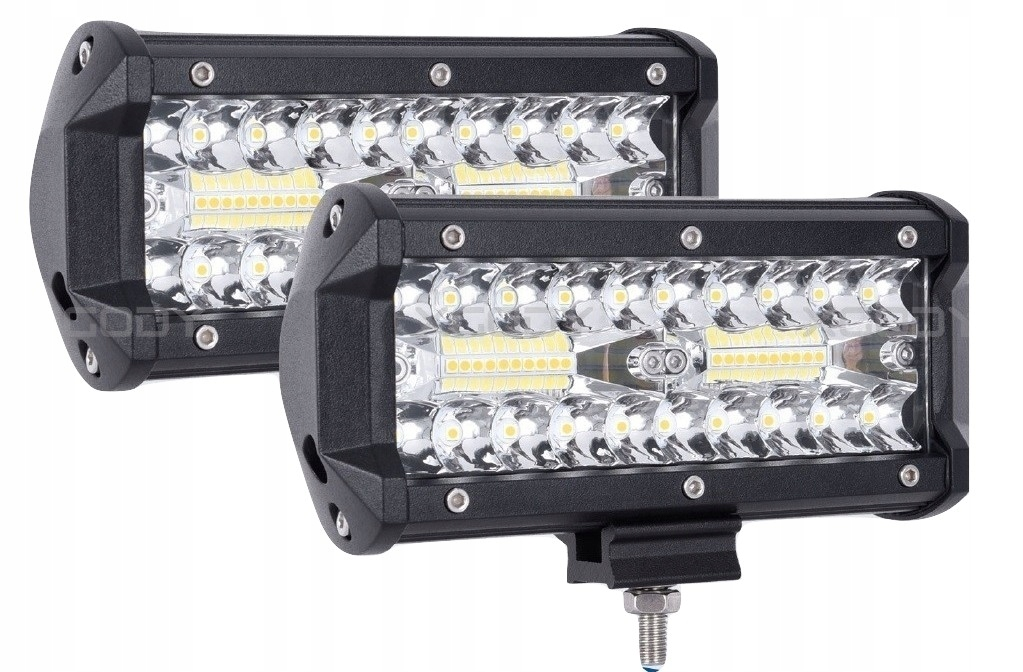 Zestaw 2 x Halogen lampa robocza LED  120W 10 30V