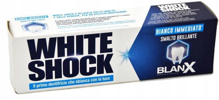 BLANX WHITE SHOCK зубная паста отбеливающая