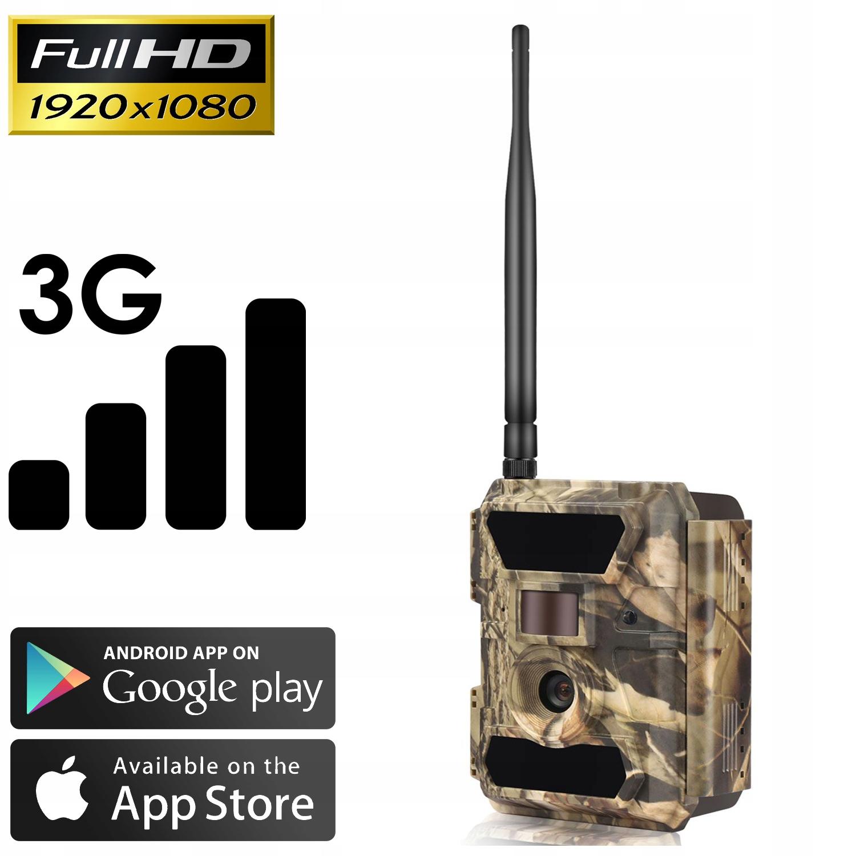 Kamera Leśna FOTOPUŁAPKA 3.5CG MMS FILM 3G POLSKI Model 3.5CG