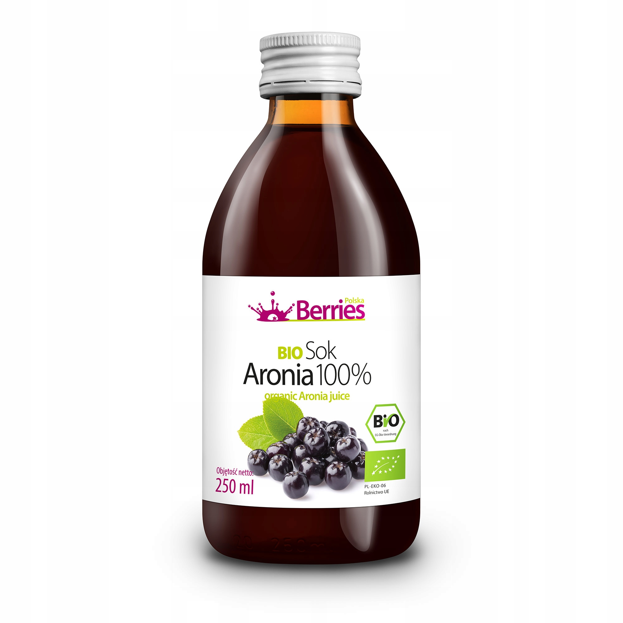 Sok BIO Aronia 100% ekologiczny sok z aronii 250ml