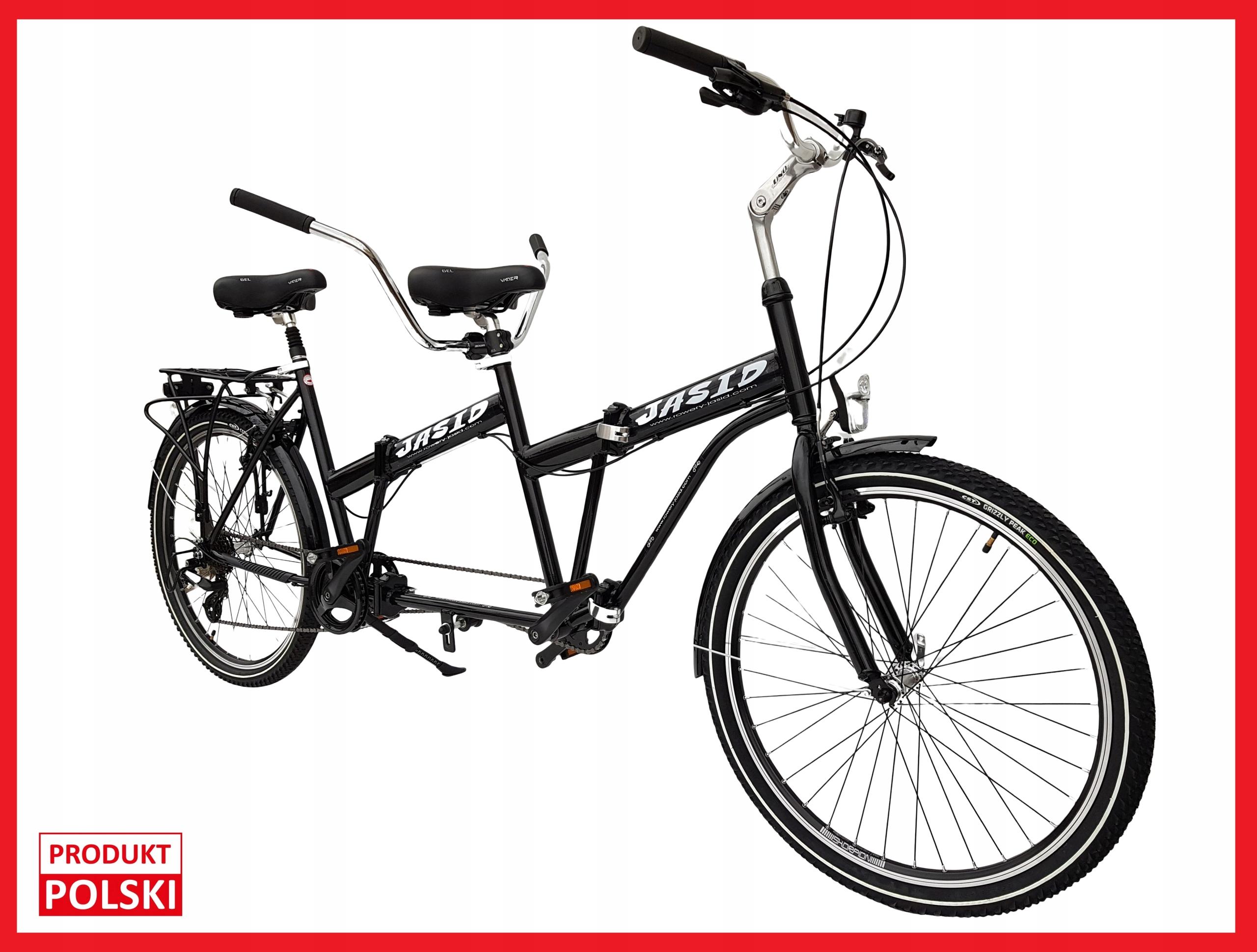 Tandemový bicykel PREMIUM Skladacia 26' POĽSKÝ s plochým dnom lode