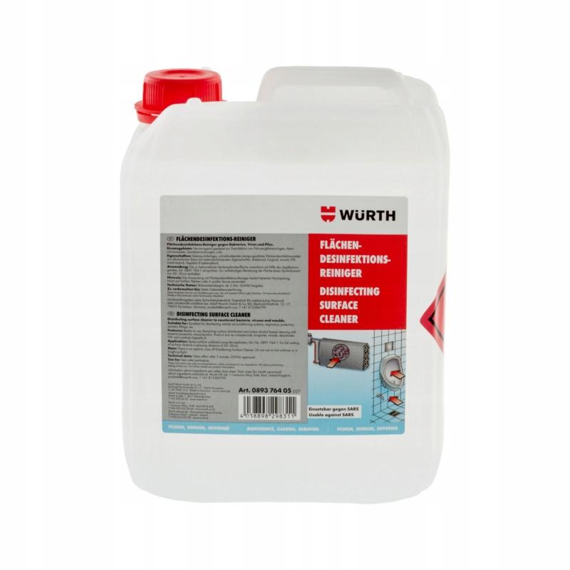WURTH Стриппер, дезинфицирующее средство для кондиционеров