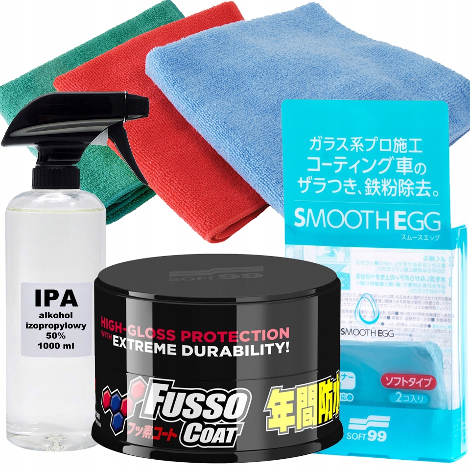 Soft99 New Fusso Coat 12 Dark - Wosk + Glinka, IPA