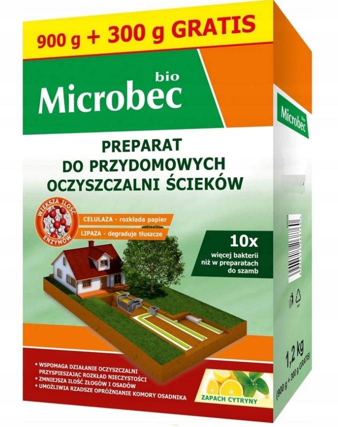 НОВИНКА BIO MICROBEC 10 x СИЛЬНЫЕ БАКТЕРИИ 1,2 кг