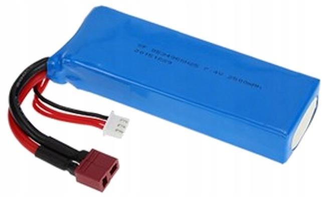 Akumulator do WL TOYS 12428 / 144001 7.4V 2500mAh