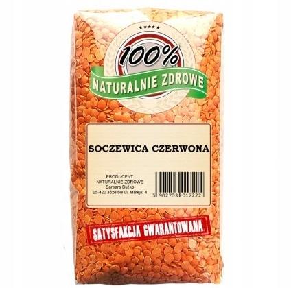 SOCZEWICA CZERWONA 1kg