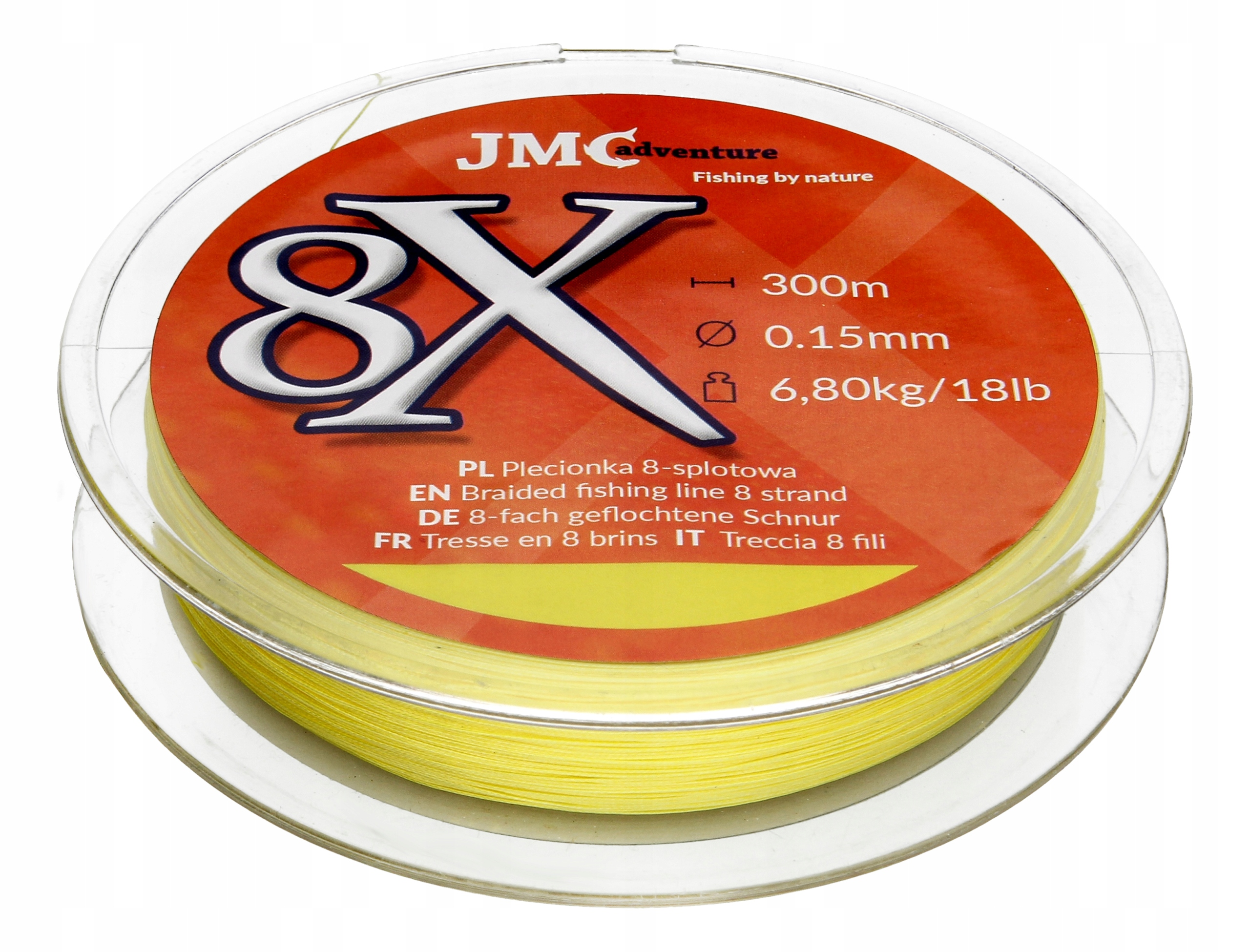 JMC Adventure Rybársky kúsok 8x 0,15 mm 300m
