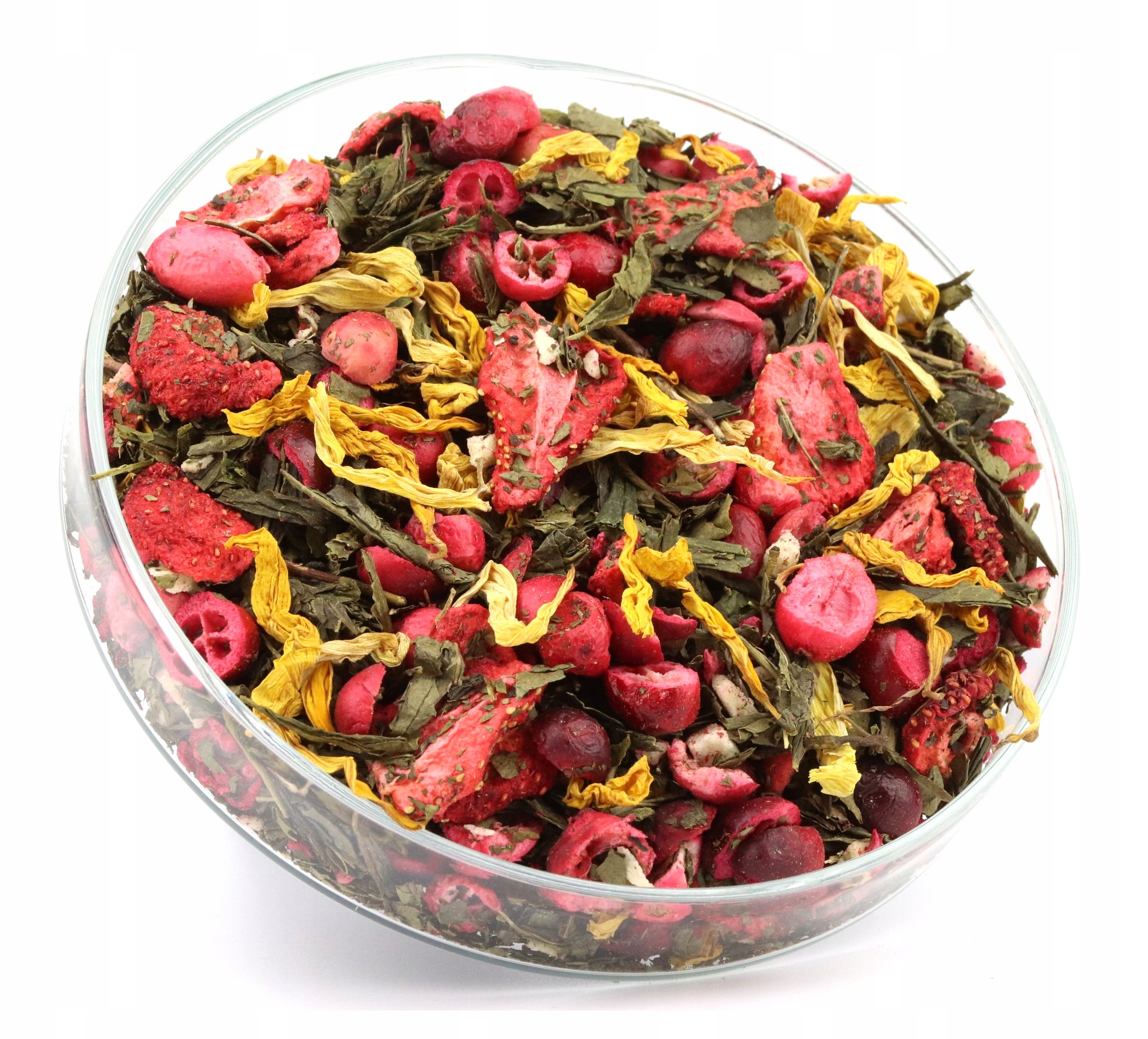 Item GREEN tea the GARDEN of Eden fruit excellent 50g