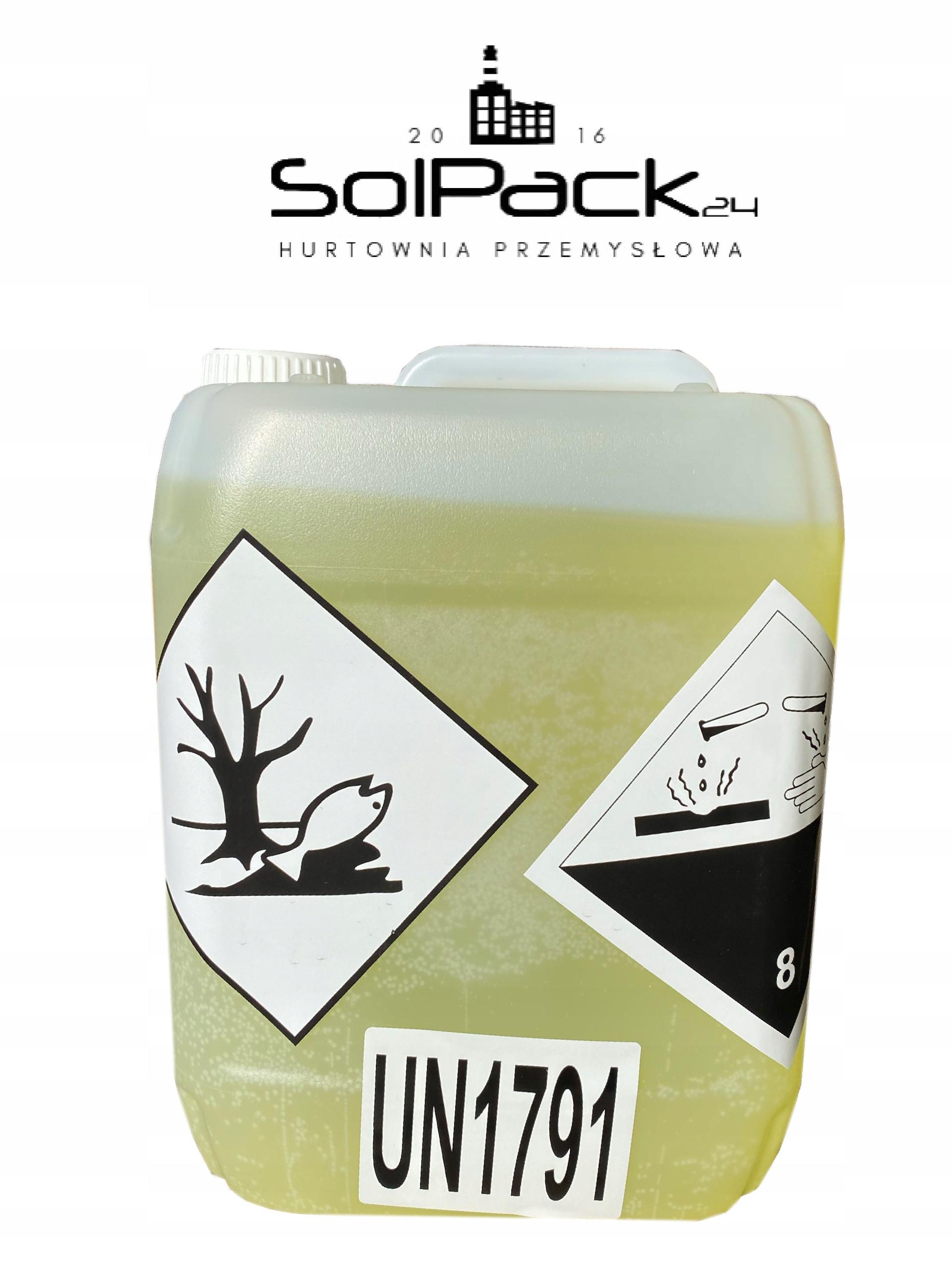 PODCHLORYN SODU chlor w płynie 5L FV