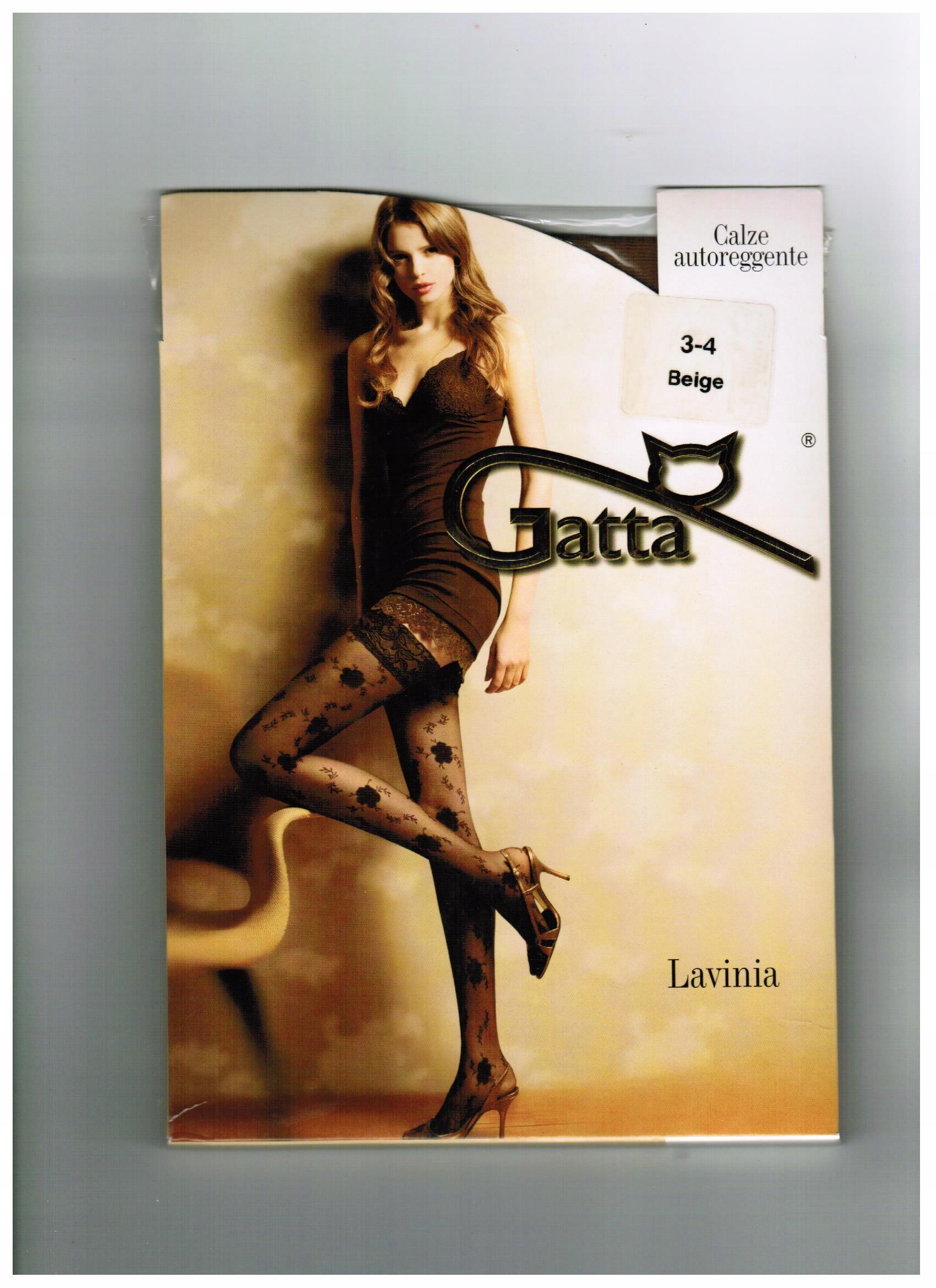 Pończochy Lavinia 06 Gatta, Nero, 1-2