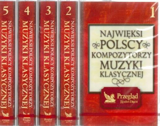Крупнейшие Польские композиторы музыки [5 x КАРТРИДЖ] доставка товаров из Польши и Allegro на русском