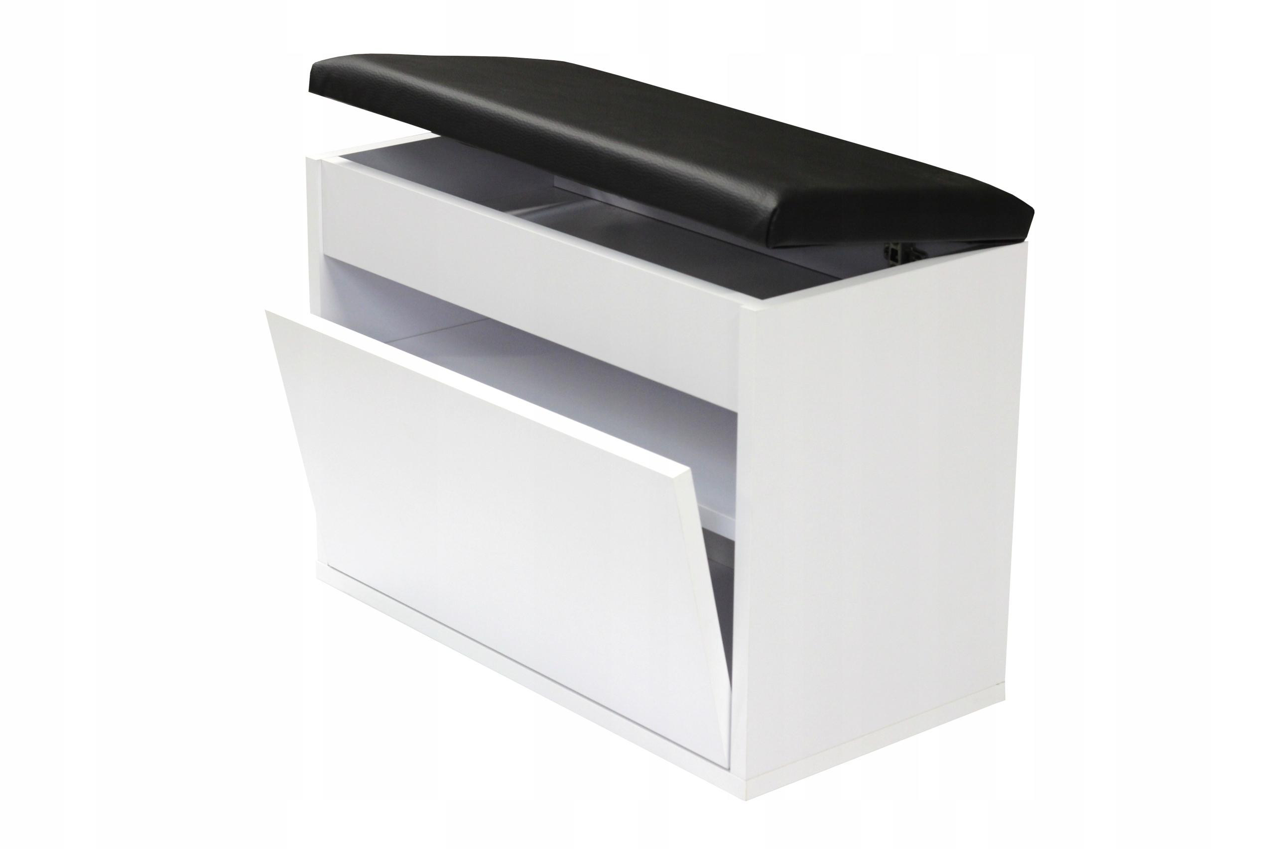 Обувной шкаф BEC50x30D seat, ящик для хранения 50см