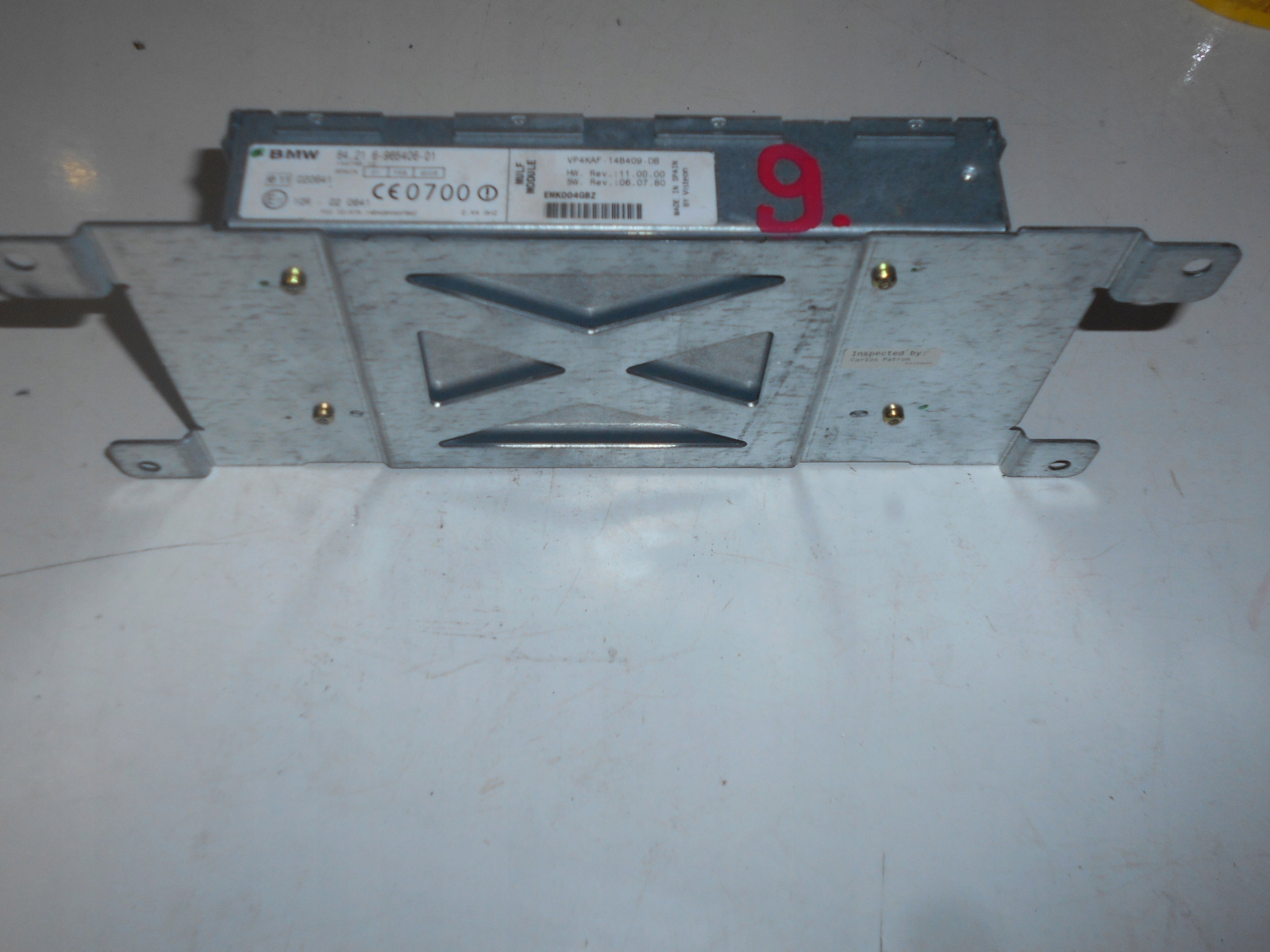 bmw e90 e91 модуль mulf bluetooth 6965406