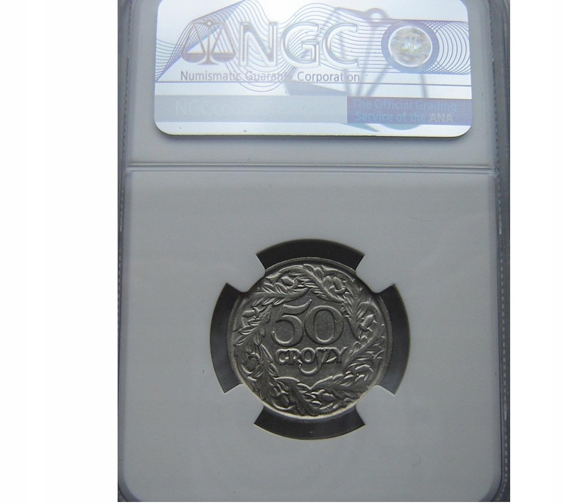 Купить 50 пенни 1923 NGC AU 58 * JG * на Otpravka - цены и фото - доставка из Польши и стран Европы в Украину.