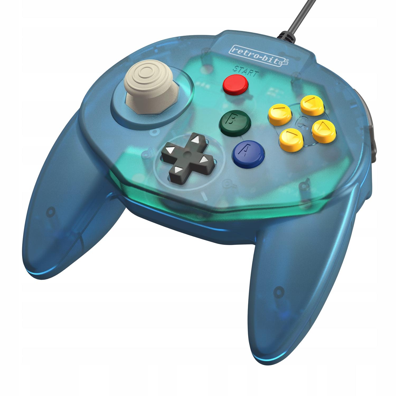 Retro-bit Tribute64 Blue Pad Premium Nintendo 64