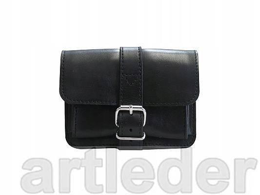 taška na pás, dokumenty, telefón, KOŽENÉ, POĽSKO
