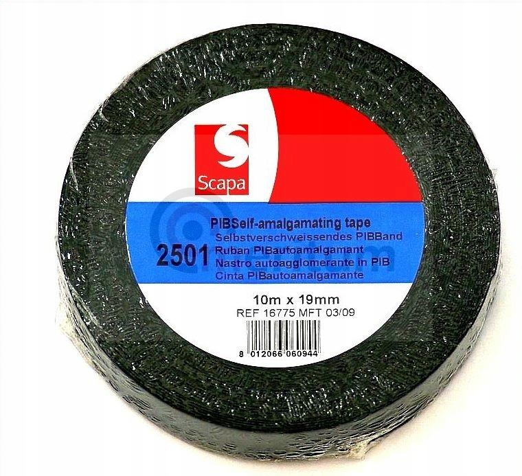 Лента изола. samowulkanizująca 19x10m СКАПА-2501