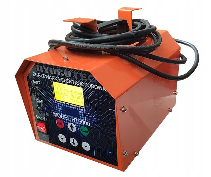 Аппарат для электромуфтовой сварки HT5000, сканер + принтер