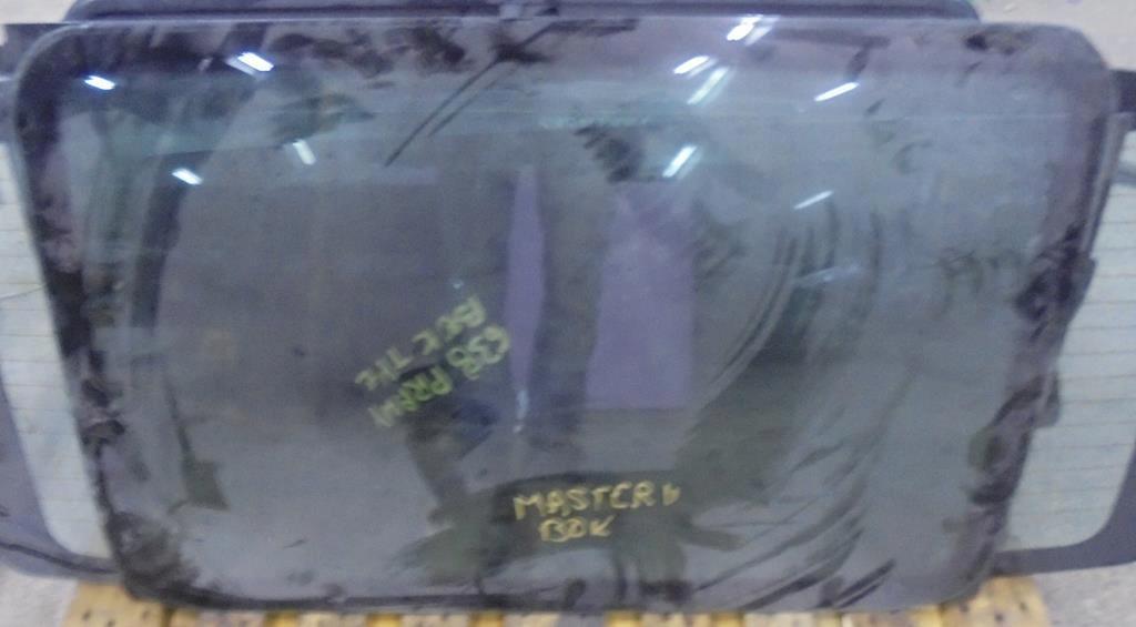 стекло боковая renault master ii fv