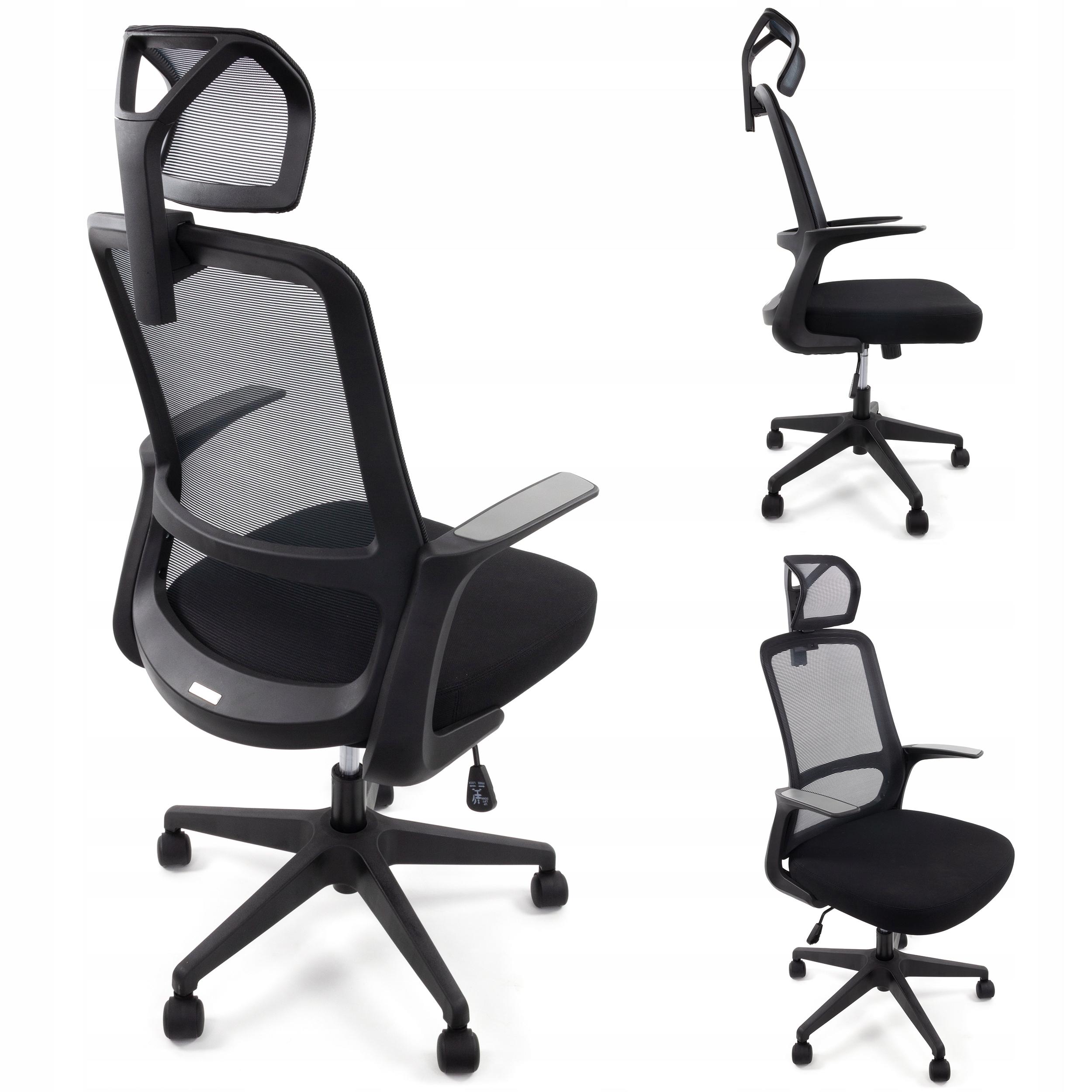 Ергономічний офісний стілець Поворотне крісло AMO-90