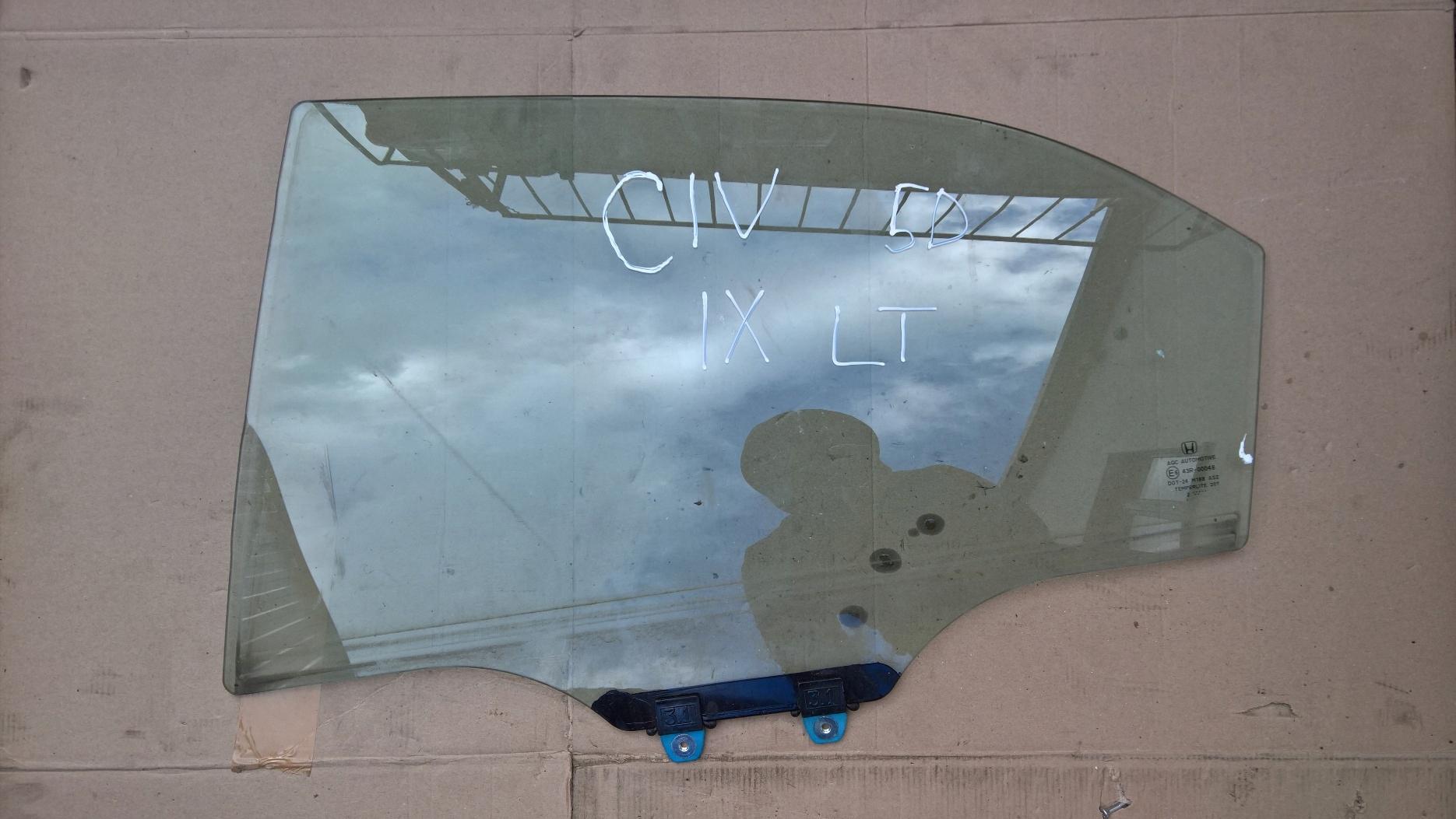 стекло двери слева мост левый сзади honda civic ix 5d
