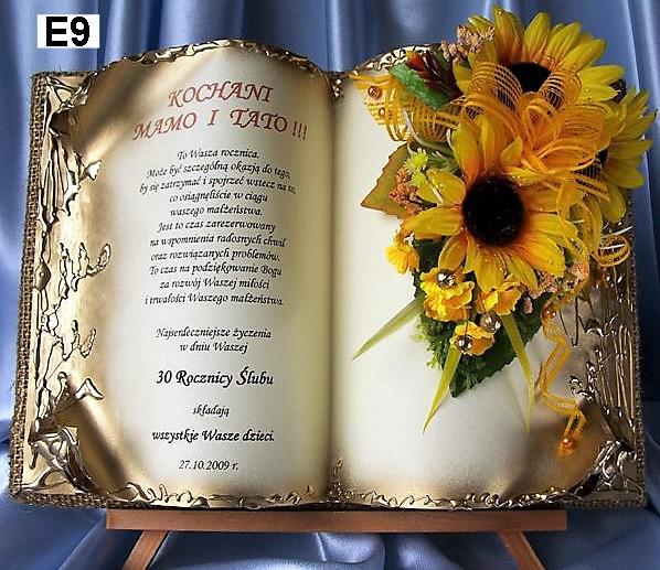 Купить Сувенир пожелания Юбилей Годовщина Свадьбы Подарок на Otpravka - цены и фото - доставка из Польши и стран Европы в Украину.