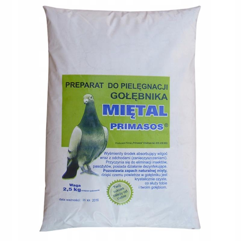 Miętal - уход за голубятню 2 ,5 Кг PRIMASOS