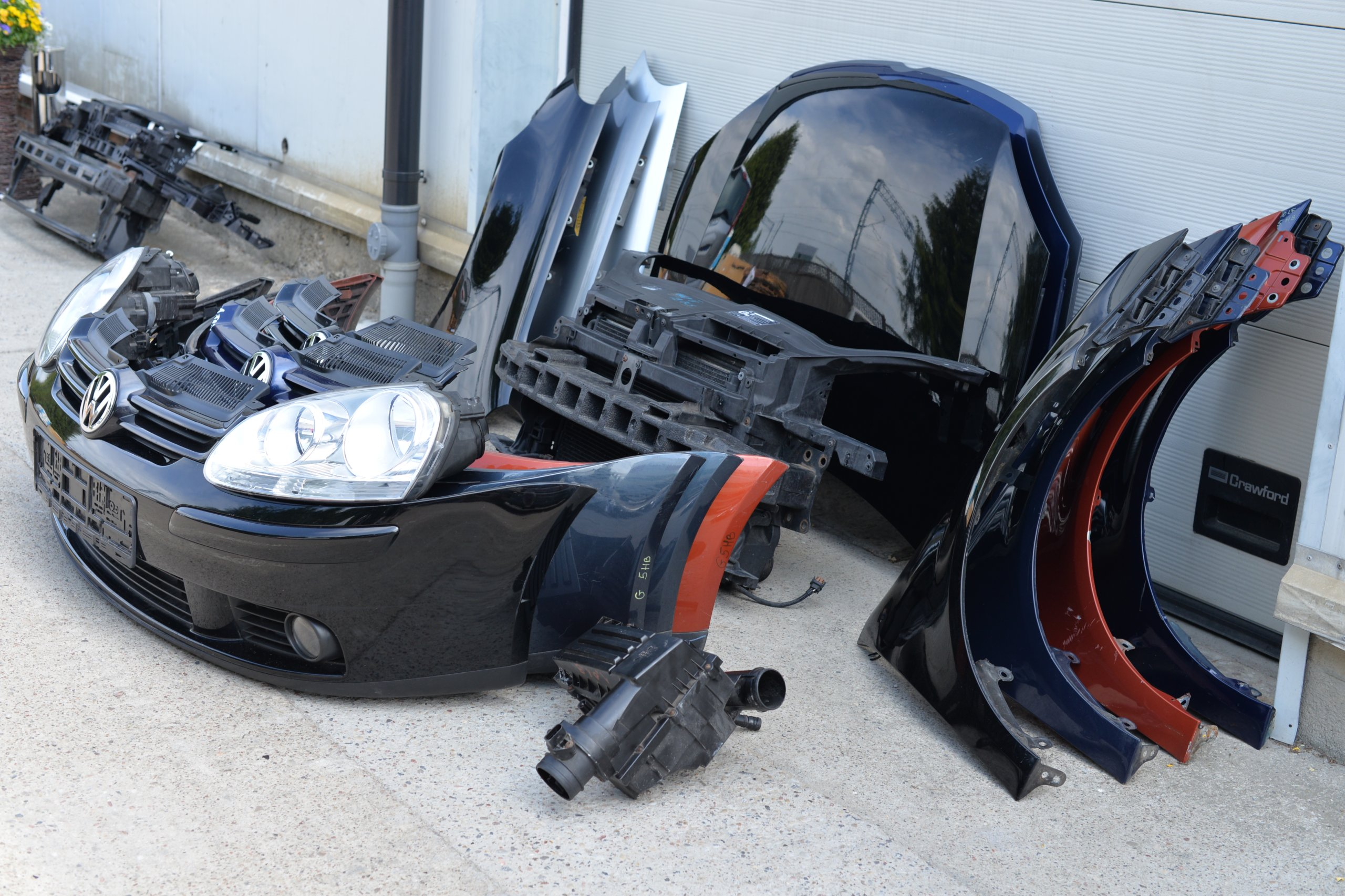 [КАПОТ ZDERZAK КРЫЛО PAS REFLEKTOR VW GOLF V 5 из Польши]изображение 3