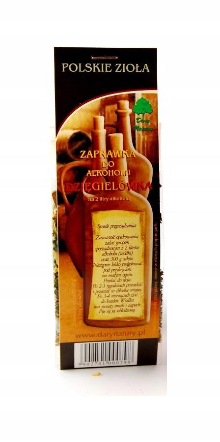 ZAPRAWKA do alkoholu - DZIĘGIELÓWKA - zioła bimber