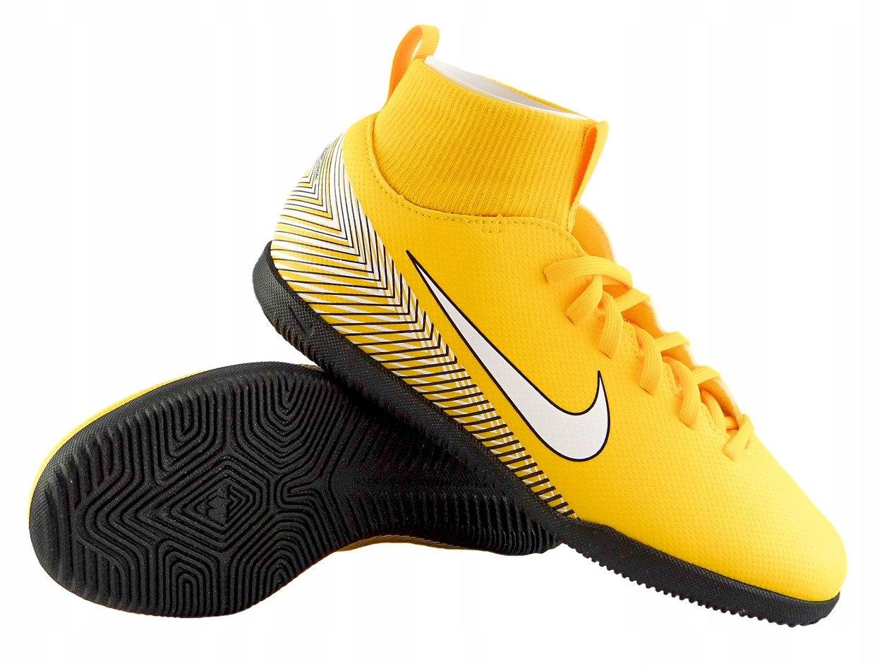 Buty Piłkarskie Halówki Nike Mercurial Superfly X 6 Club Neymar IC JR AO2891 710 Halowe Obuwie Piłka nożna Sporty drużynowe