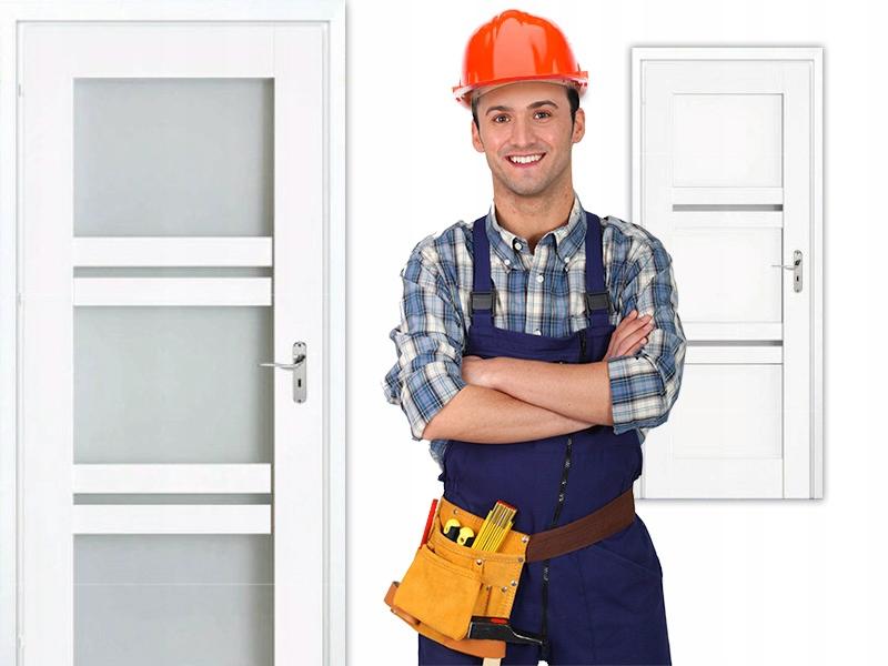 Drzwi wewnętrzne panelowe DALIA opcja PRZESUWNE