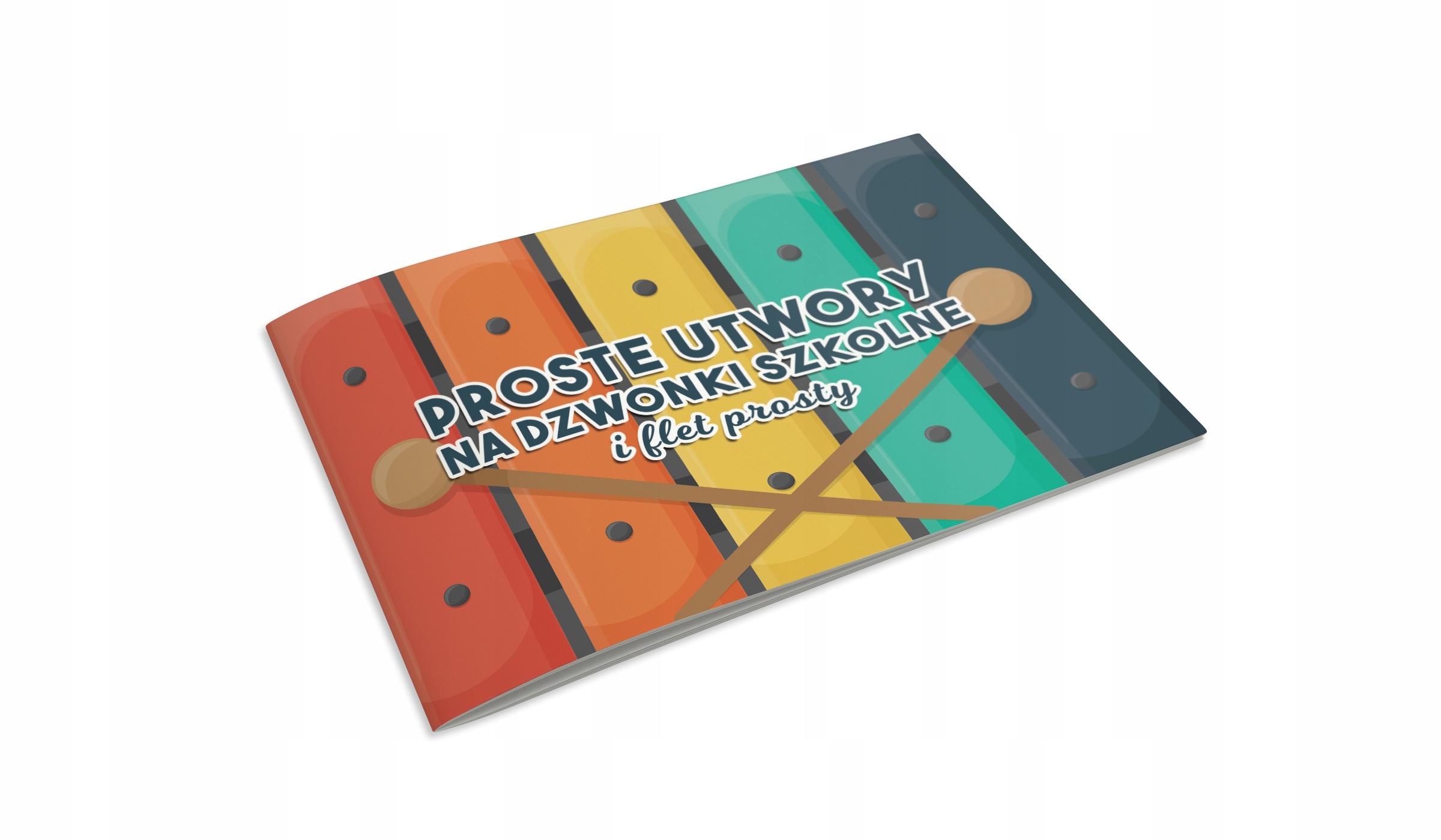 Kniha akordových poznámok na chromatické zvončeky flute