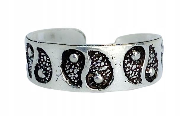 Pierścionek na palec u stopy Eva srebro 925 8918604237 7LVxPRdr