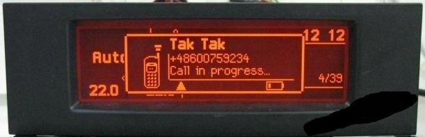 дисплей к радио rd 45 peugeot citroen bt rd45