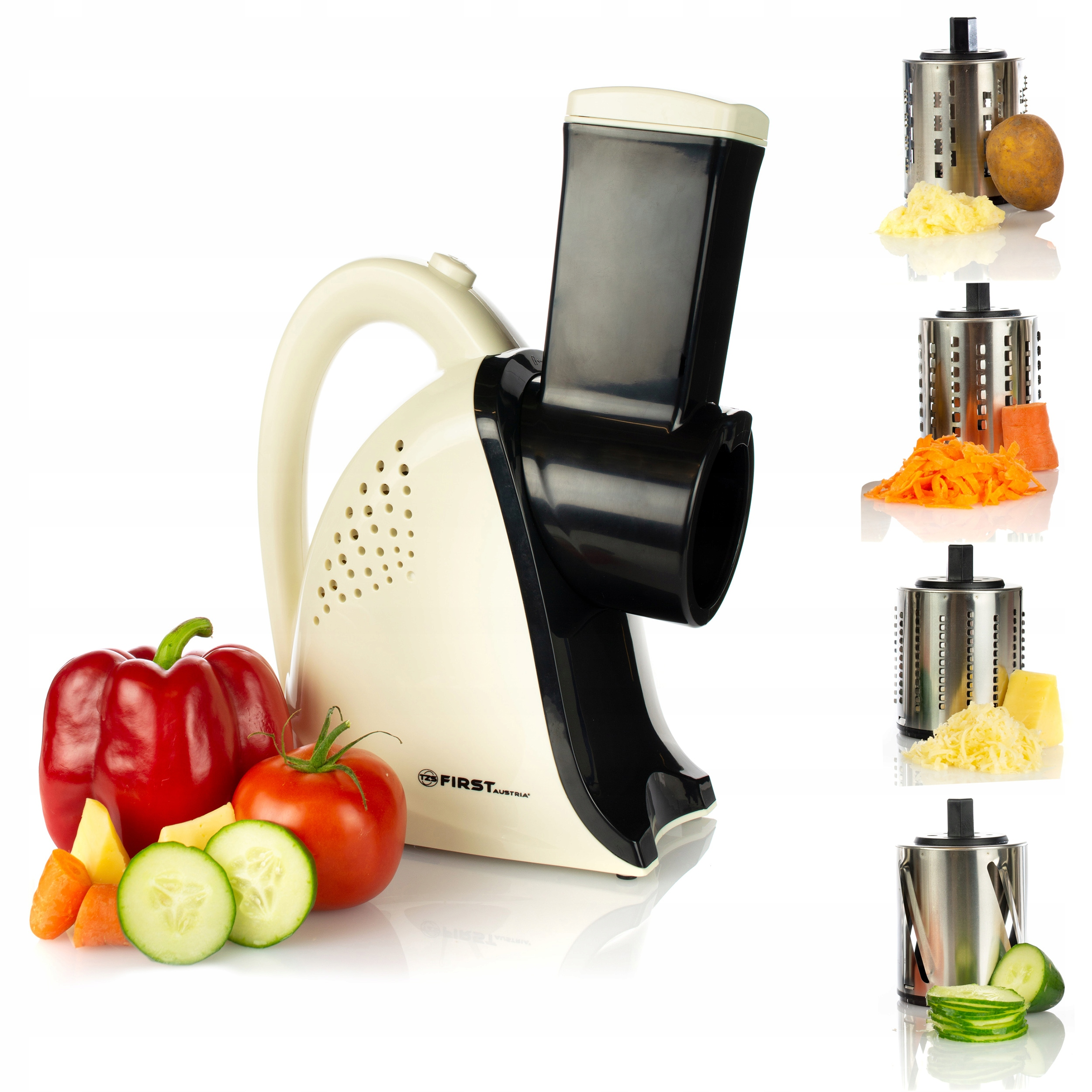 Item Szatkownica electric vegetable grater with 4 NOZZLES