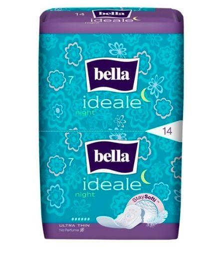Гигиенические прокладки Bella Идеале StaySofti Night, 14 шт