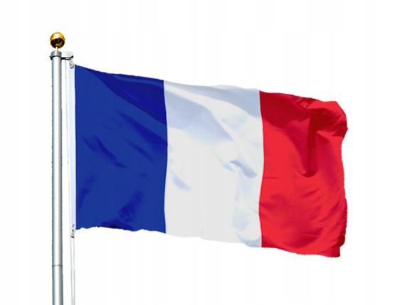 Flaga Francja 150x90 cm Flagi Francji Francuska 4973594936 ...