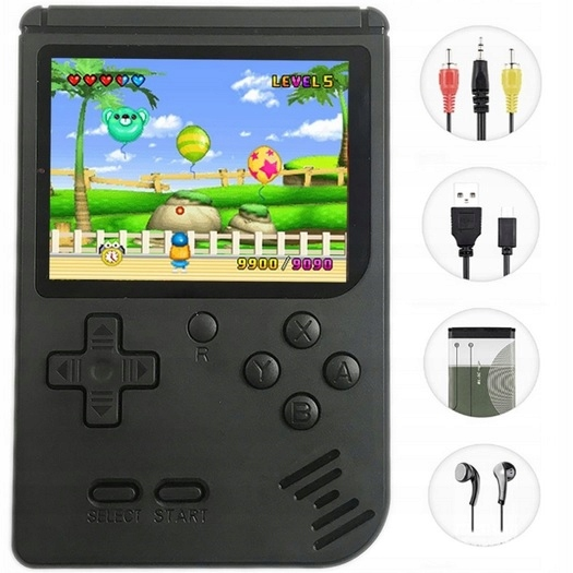 Item PORTABLE RETRO CONSOLE LIKE THE NES 400 GAMES FC280