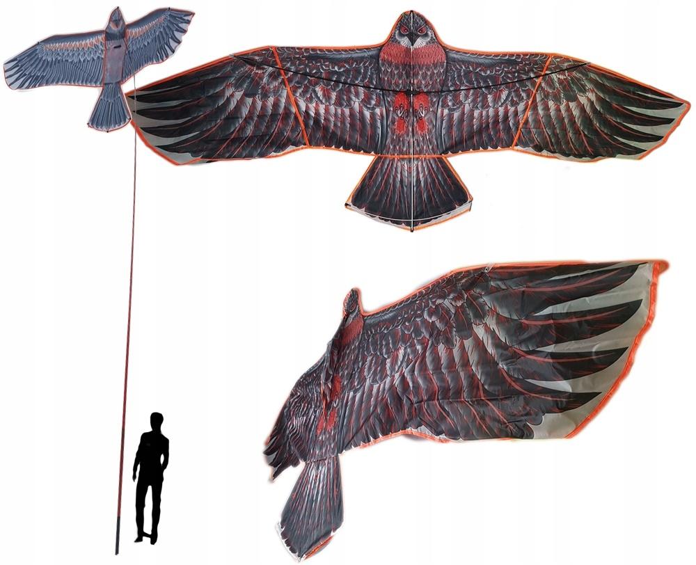Mega большая птица отпугиватель животных Кайт 6м