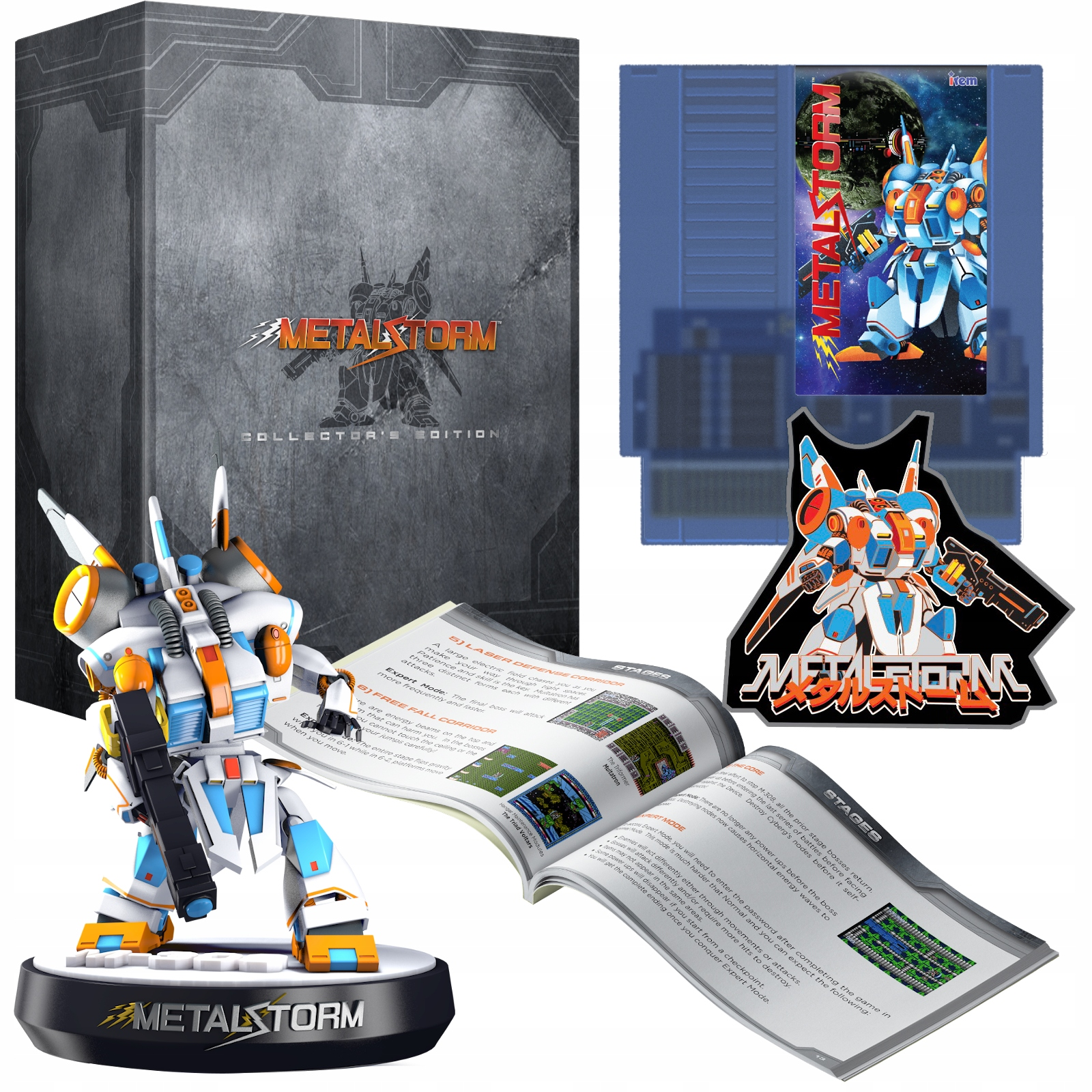 Metal Storm Collectors with figure, NES EU Premiere