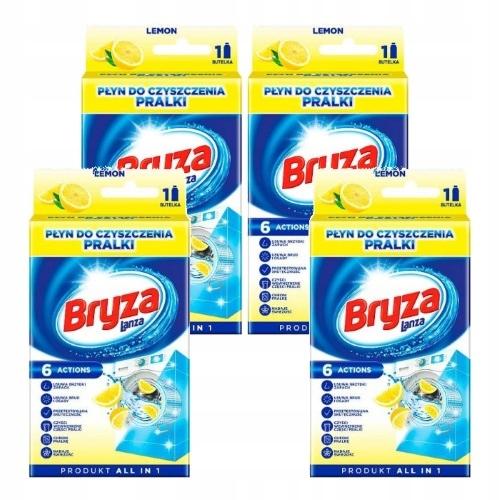 Бриз, Жидкость для Чистки Стиральной машины Lemon 4x250ml