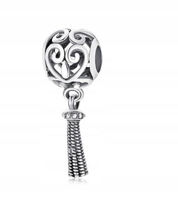 Kľúčové Tlačidlá Pre Pandora Korálky Strapce Vintage Chwost